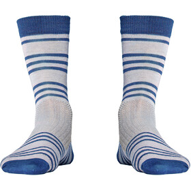 Röjk Everyday Merino Socks berry blue stripe